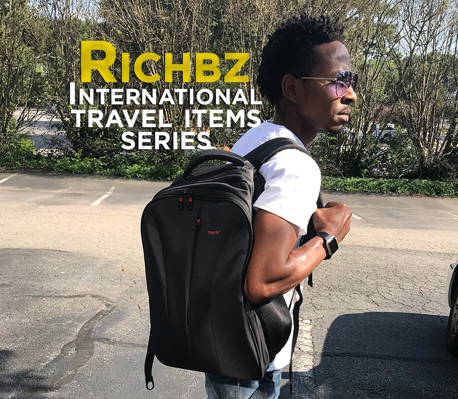 Richbz with Backpack